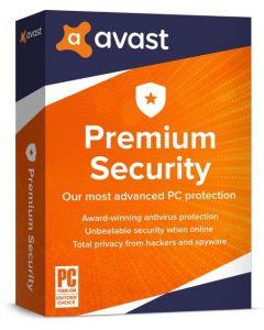 Avast Premium Security for Windows (1 користувач на 1 рік) для захисту ПК та робочих станцій