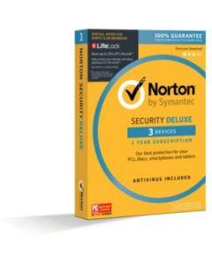 Norton Security Deluxe 3D для 3 користувачів на 1 рік