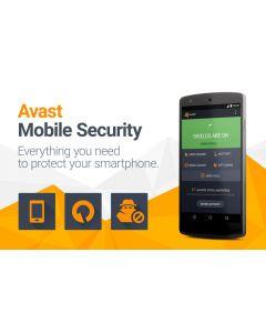 Avast Mobile Security (1 користувач на 1 рік) для захисту Android