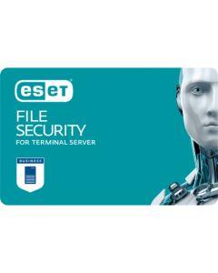 ESET File Security for Terminal Server (5 користувачів, 1 рік) електронна ліцензія для багаторівневого захисту серверів.