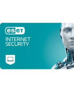 ESET Internet Security (2 користувача, 3 роки) електронна ліцензія для всебічного інтернет захисту Windows, Mac, Android та Linux