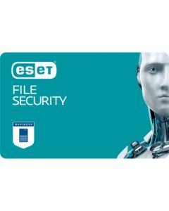 ESET File Security (1 користувач, 1 рік) електронна ліцензія для захисту Microsoft Windows Server