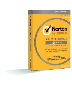 Norton Security Premium для 10 користувачів на 1 рік