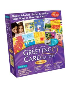 Nova Development Greeting Card Factory Deluxe 4