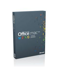 Microsoft Office Mac Home Business 2011 Russian DVD