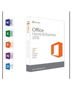 Microsoft Office Home and Business 2016 32/64 English DVD P2