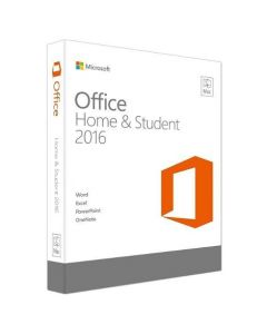 Microsoft Office Mac Home and Student 2016 English Medialess P2