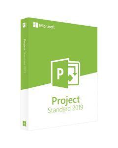 Microsoft Project Standard 2019 багатомовний (ESD- електронний ключ) для 1 Пк   076-05785