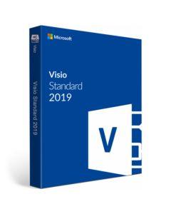 Microsoft Visio Standard 2019 (ESD- електронний ключ) багатомовний D86-05822 для 1 Пк на 1 рік