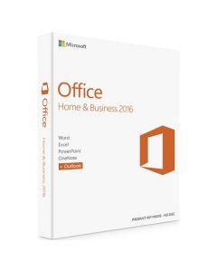 Microsoft Office 2016 Home & Business, багатомовний (ESD- електронний ключ) T5D-02322 для 1 Пк на 1 рік