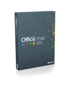 Microsoft Office 2016 Home & Business для Mac All Languages ESD W6F-00652