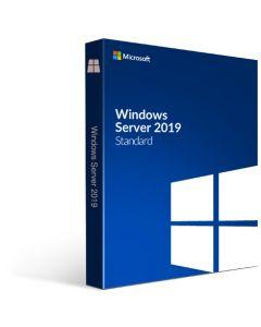 Microsoft Windows Server Std 2019 64Bit DVD 16 Core англійська мова  (ОЕМ; ліцензія збирача)