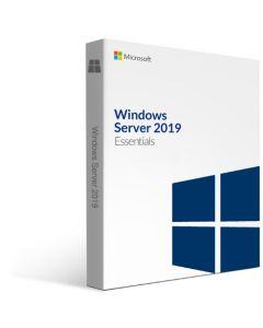 Програмне забезпечення Microsoft Windows Svr Essentials 2019 64Bit (ОЕМ; ліцензія збирача) російська мова ( підтримка до 25 користувачів і 50 пристроїв)