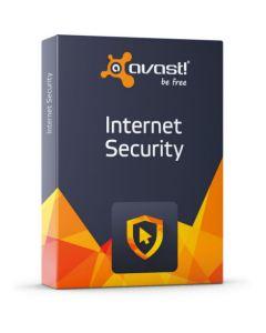 Avast! Internet Security (1 користувача на 1 рік) для захисту конфіденційних даних в Інтернеті