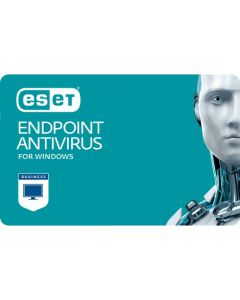 ESET Endpoint Antivirus (5 користувачів, 1 рік) електронна ліцензія багаторівневого захисту від шкідливих програм для Windows.