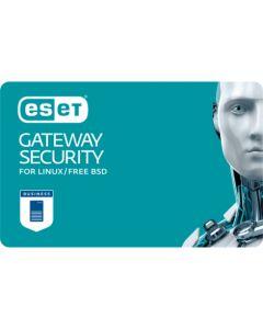 ESET Gateway Security for Linux / Free BSD (5 користувачів, 1 рік) електронна ліцензія для захисту інтернет- шлюзів Linux.