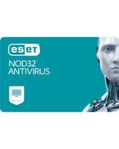 ESET NOD32 Antivirus (2 користувача,1 рік) електронна ліцензія для Windows.