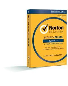 Norton Security Deluxe 5D для 5 користувачів на 1 рік