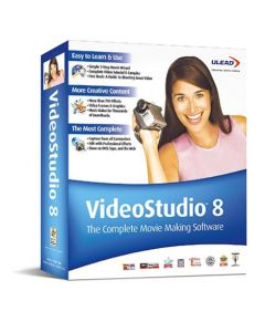 Ulead Video Studio 8  Academic/EDU ML