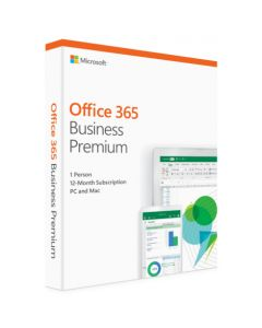 Microsoft Office 365 Business Premium (ESD- електронний ключ) KLQ-00217 для 5 Пк на 1 рік